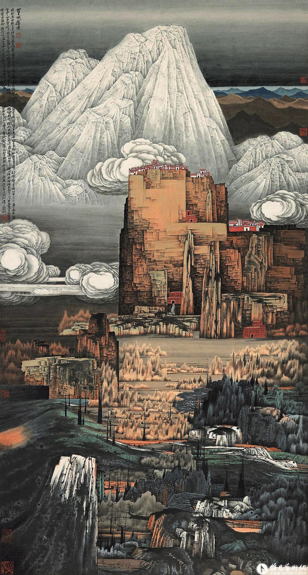 中国现代名家名画*薛亮/山水(2) - 香儿 - xianger