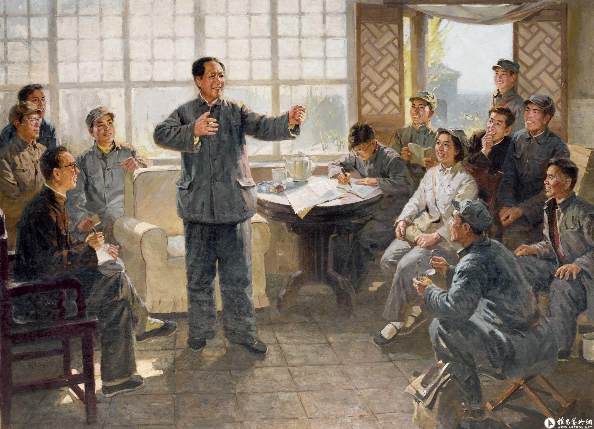 文武之道,一张一弛---毛主席给晋绥日报编辑人员的谈话