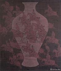 古瓶系列.No.7·出猎图