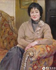 郭超英女士肖像