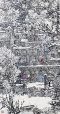 一村春雨一村新雪