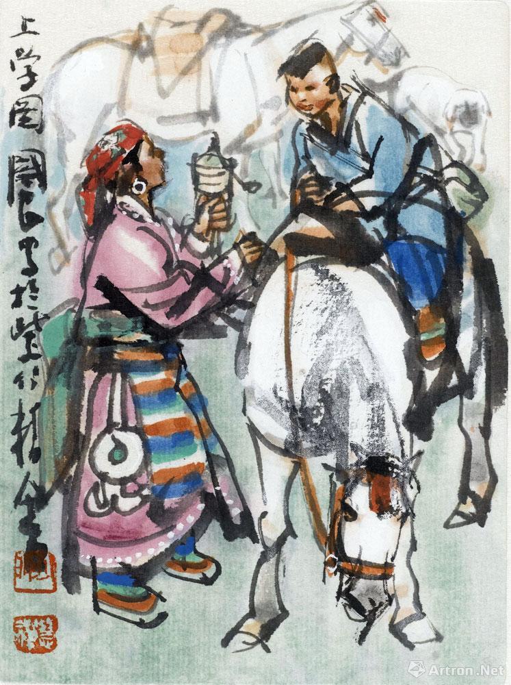 史国良作品:扑克牌之5(三)