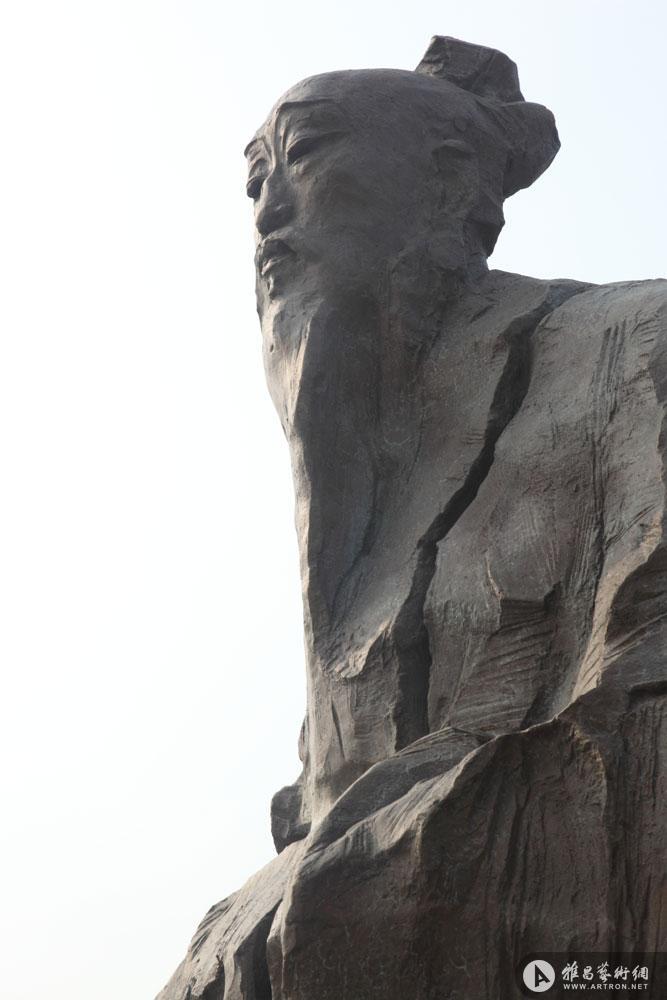 名人雕塑·白居易1
