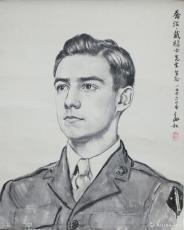 美国海军陆战队乔治·戴禄士像