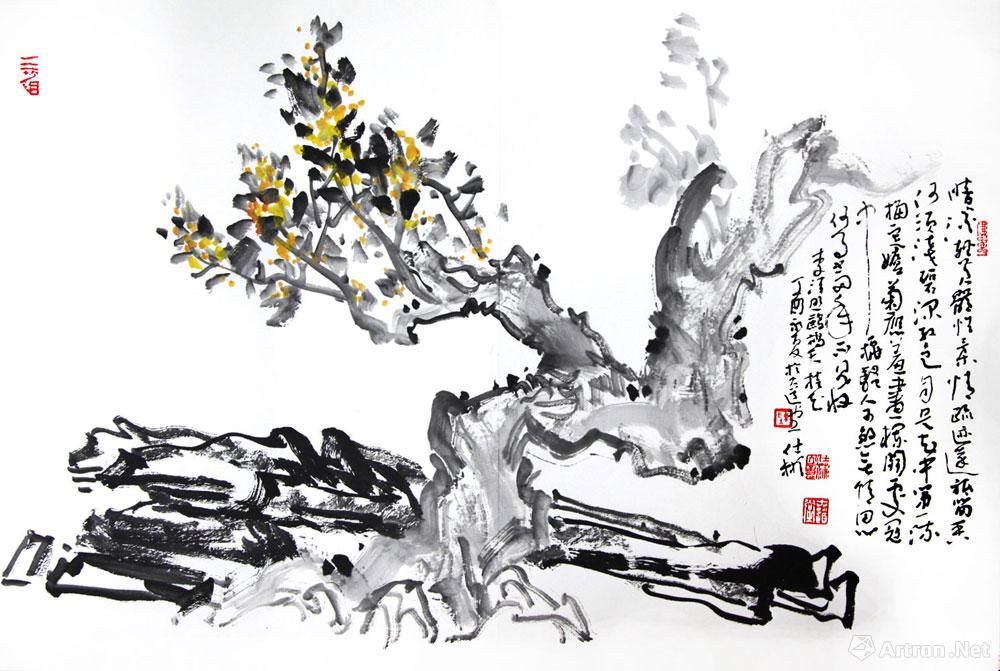 桂花儿童简笔画