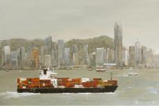 今日·香港维多利亚港作