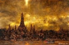 曼谷·郑王庙作
