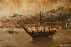盛唐·阿拉伯商船在广州