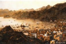 十五世纪阿曼马斯喀特港·郑和船队