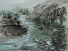 墨系列(78):翠鸟
