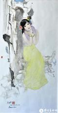 瓷面釉上绘画作品1