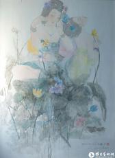 瓷面釉上绘画作品3