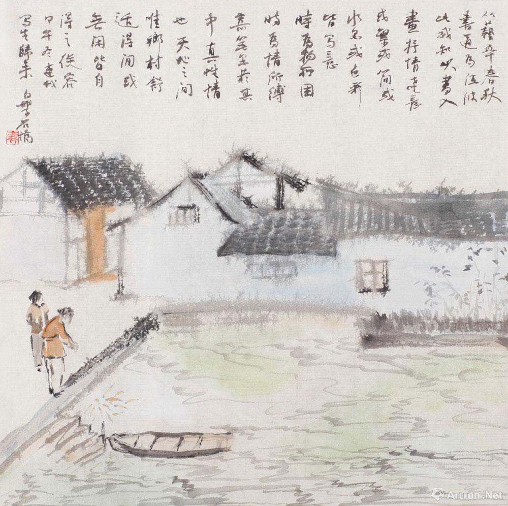连城写生(15)