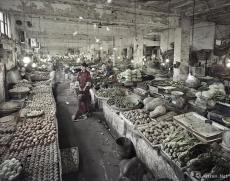 《故城市场》系列之菜市场
