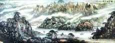 新安山水图