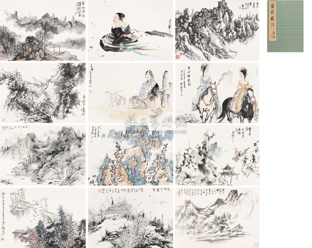 【山水人物】拍卖品_图片_价格_鉴赏_绘画_雅昌艺术品