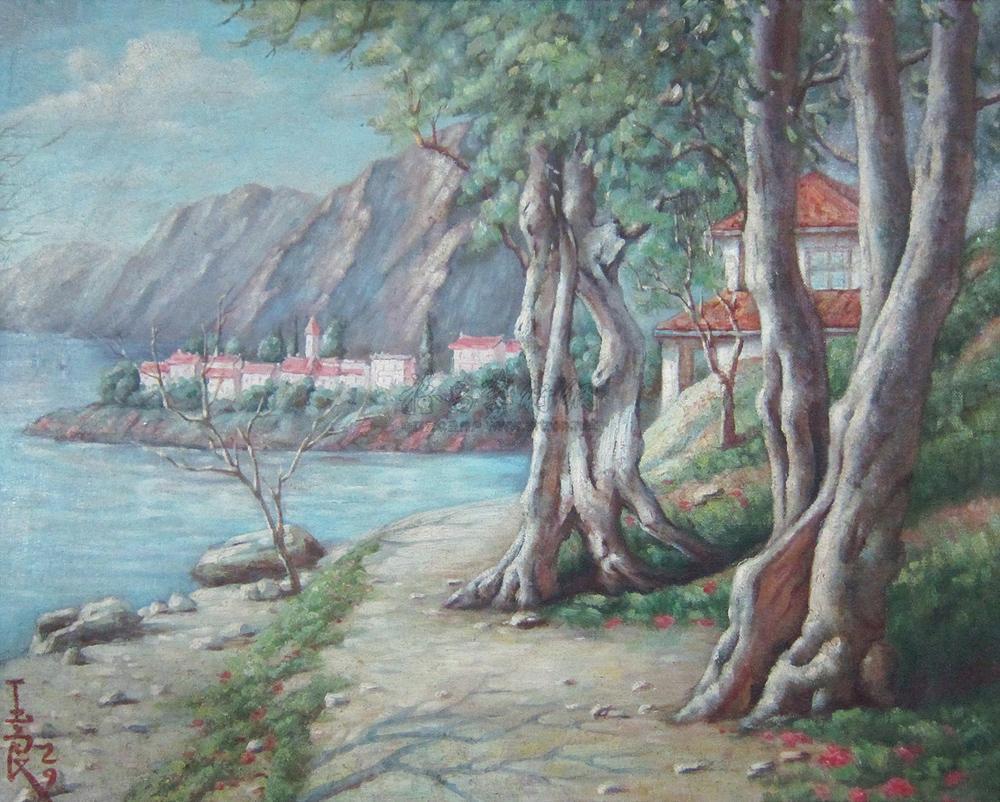 【法国风景】拍卖品_图片_价格_鉴赏_油画_雅昌艺术品