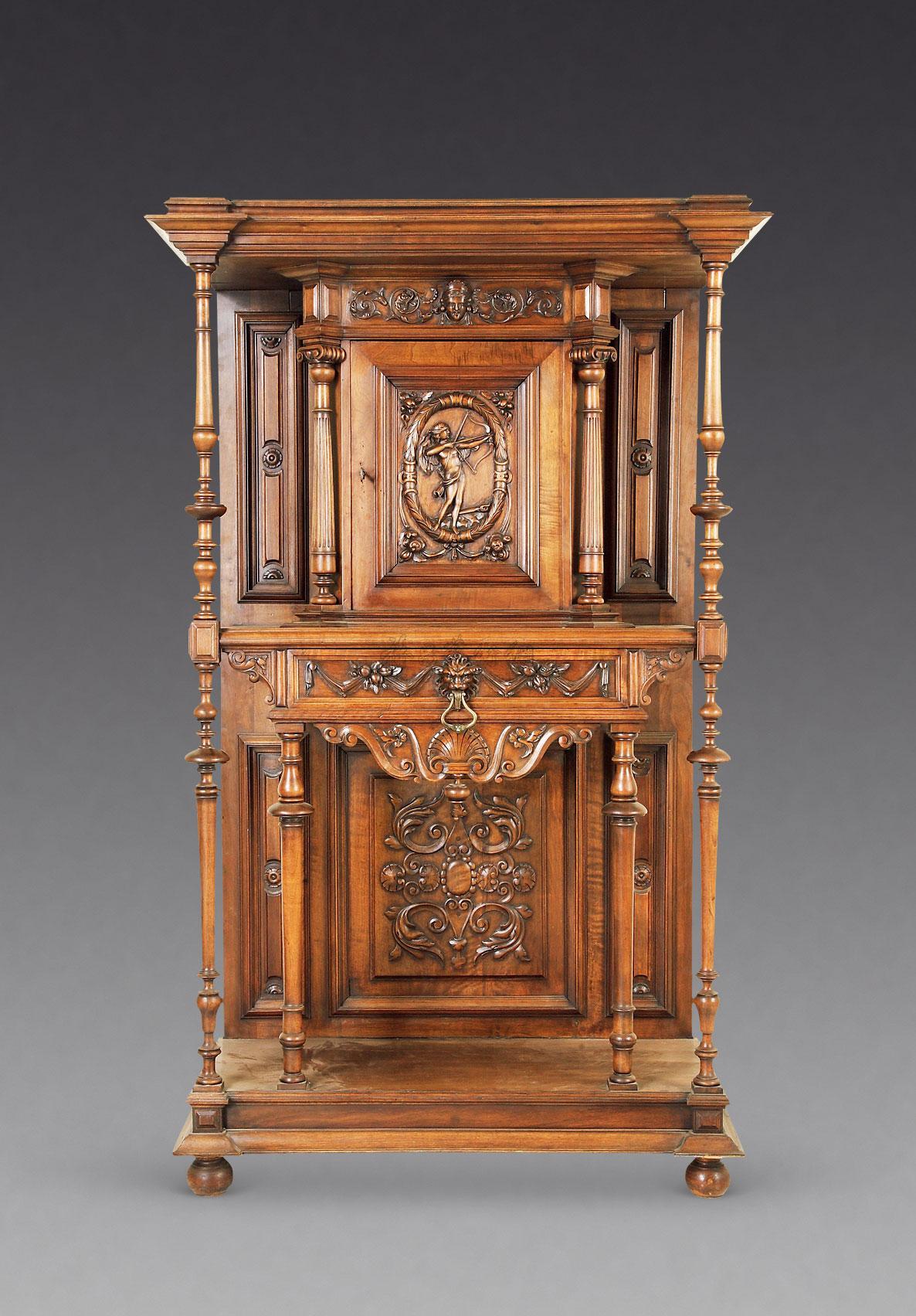 【法国欧式壁柜】拍卖品_图片_价格_鉴赏_古典家具_品