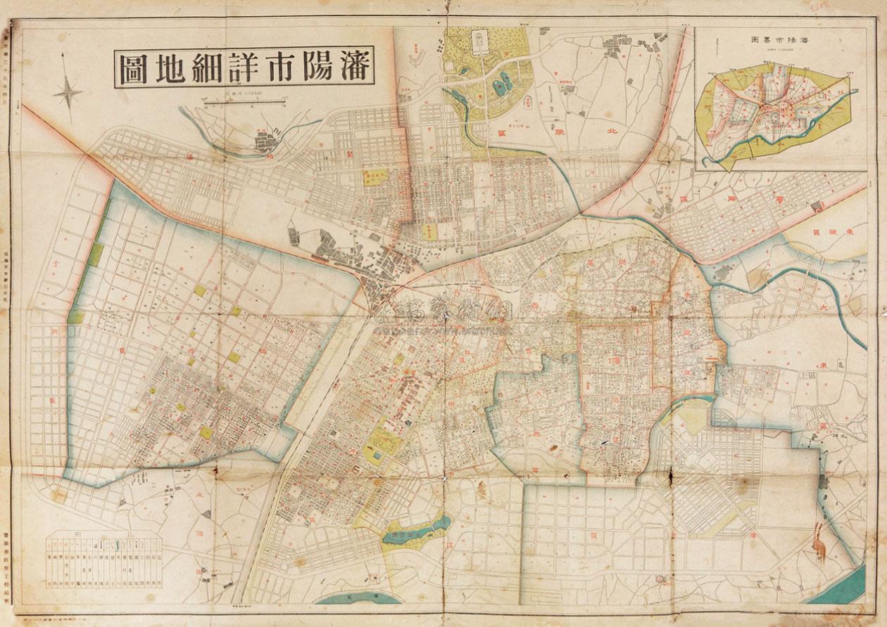 2413 沈阳市详细地图