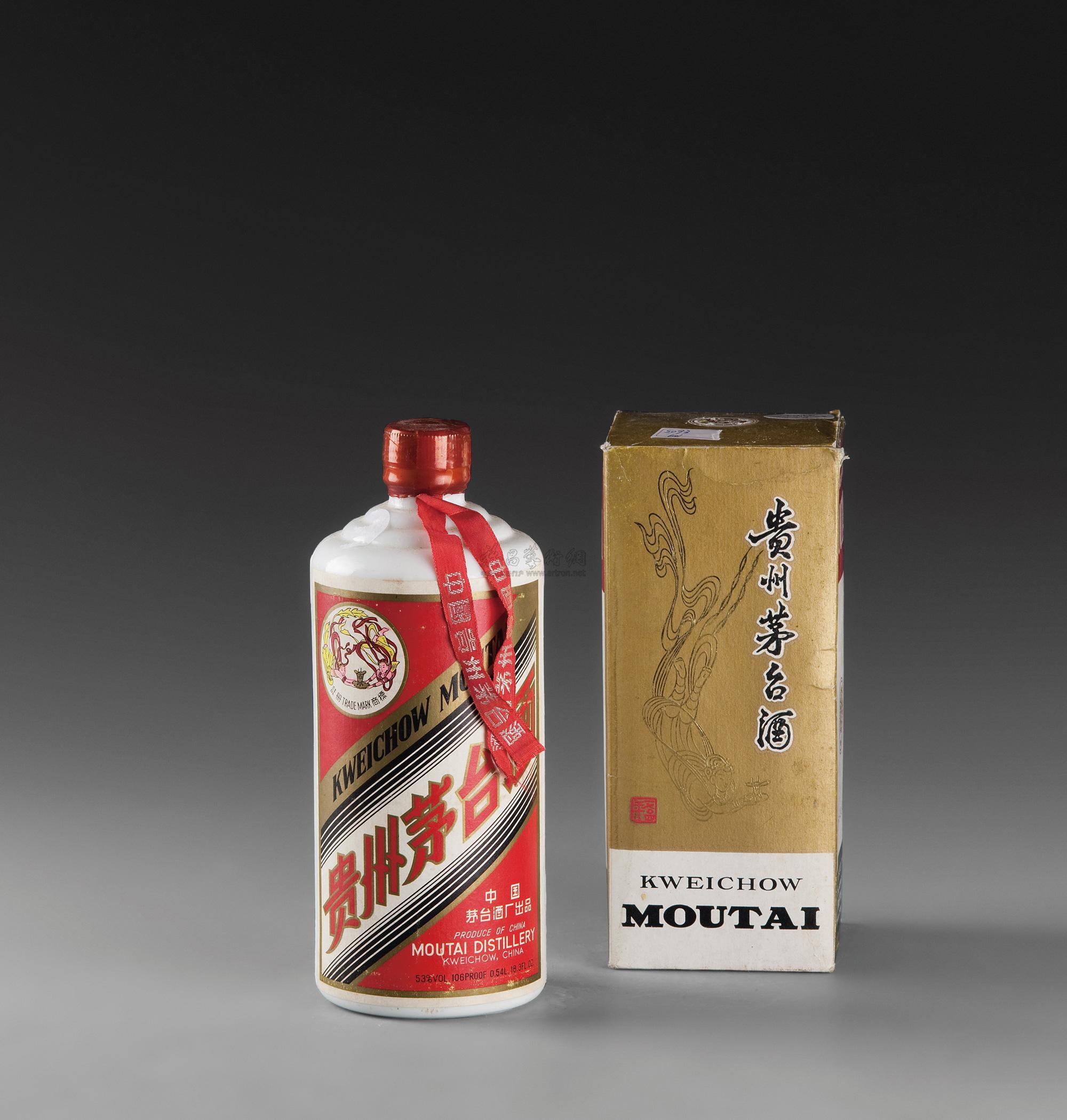 天图案的酒飞天贵州茅台酒-飞天图案的酒