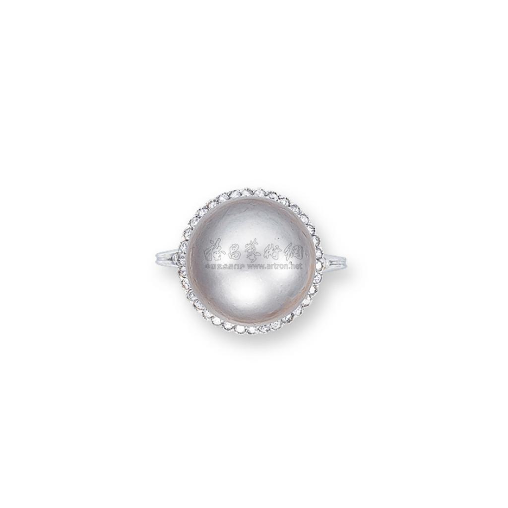 1853 天然珍珠戒指