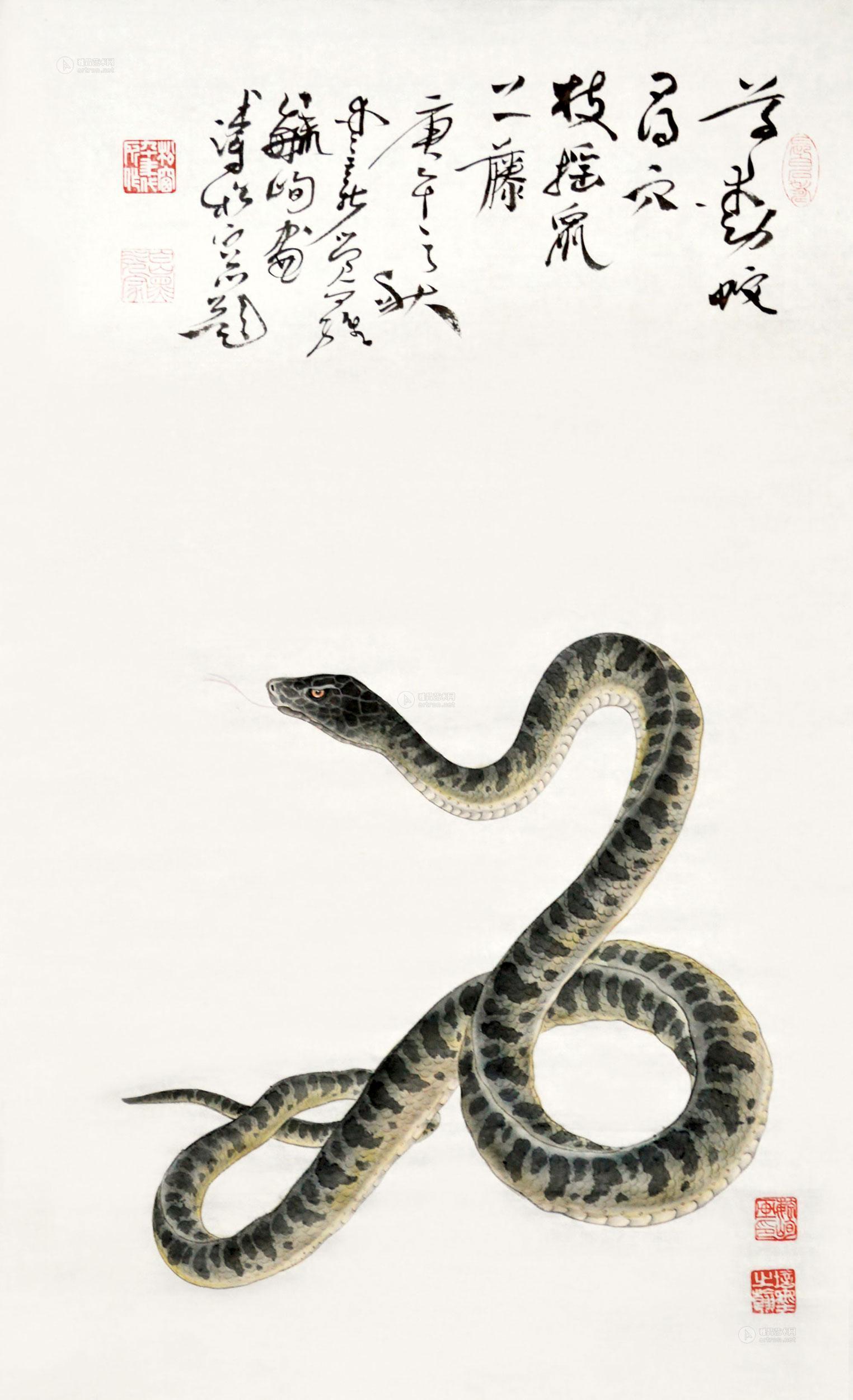 做纸蛇步骤图片大全