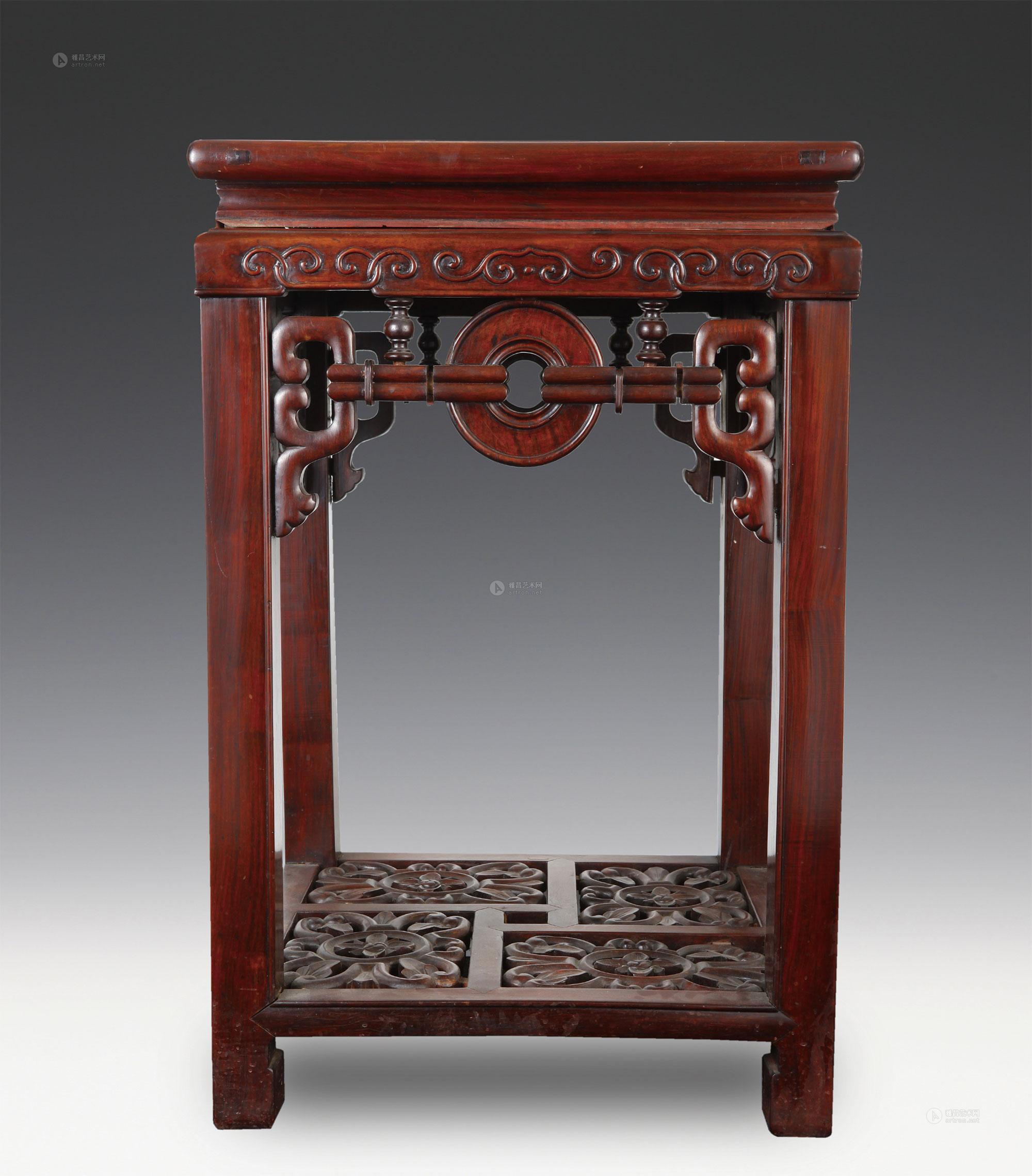 0085 红木茶台