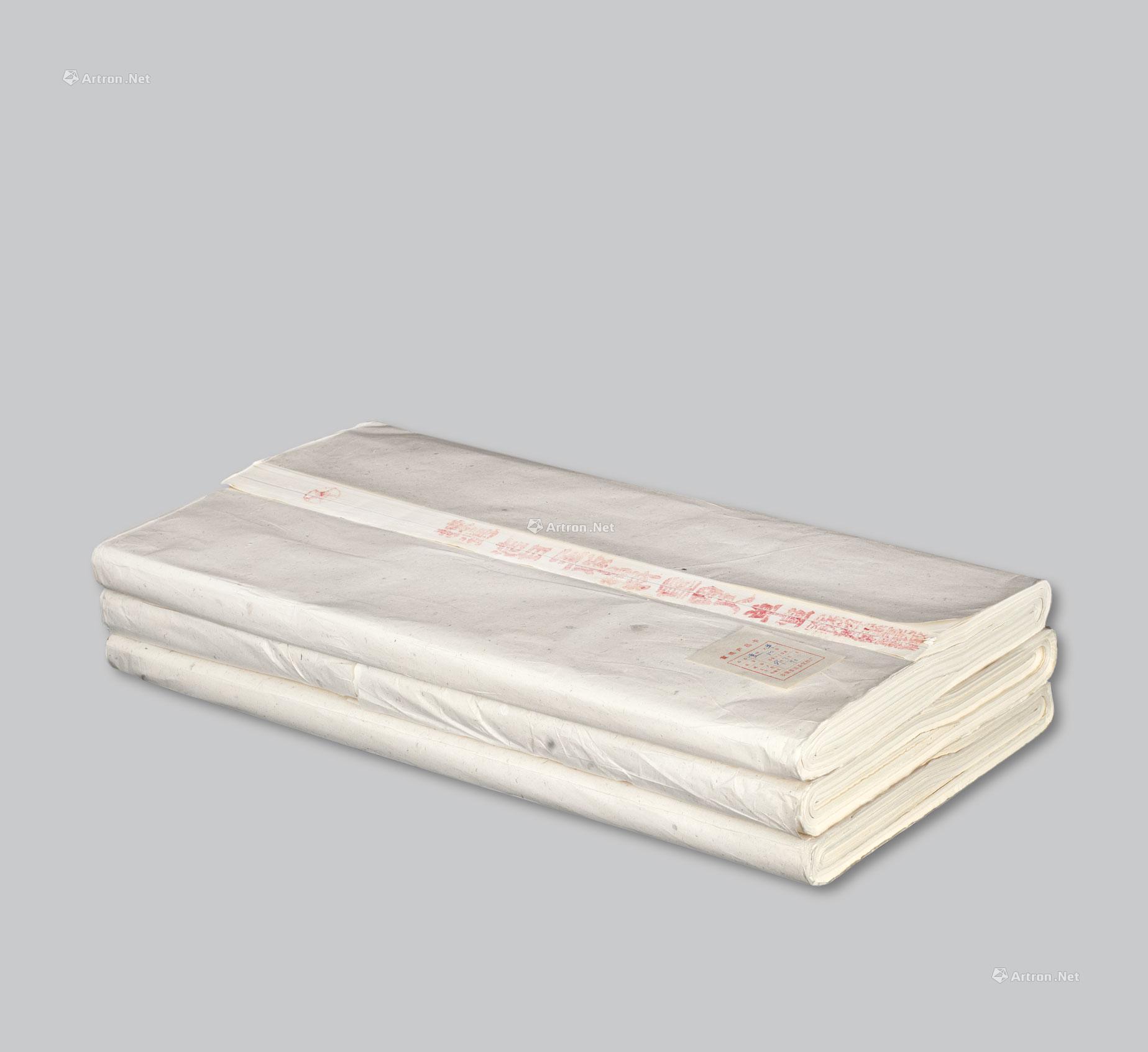 0982 1989年红星牌四尺棉料宣纸图片
