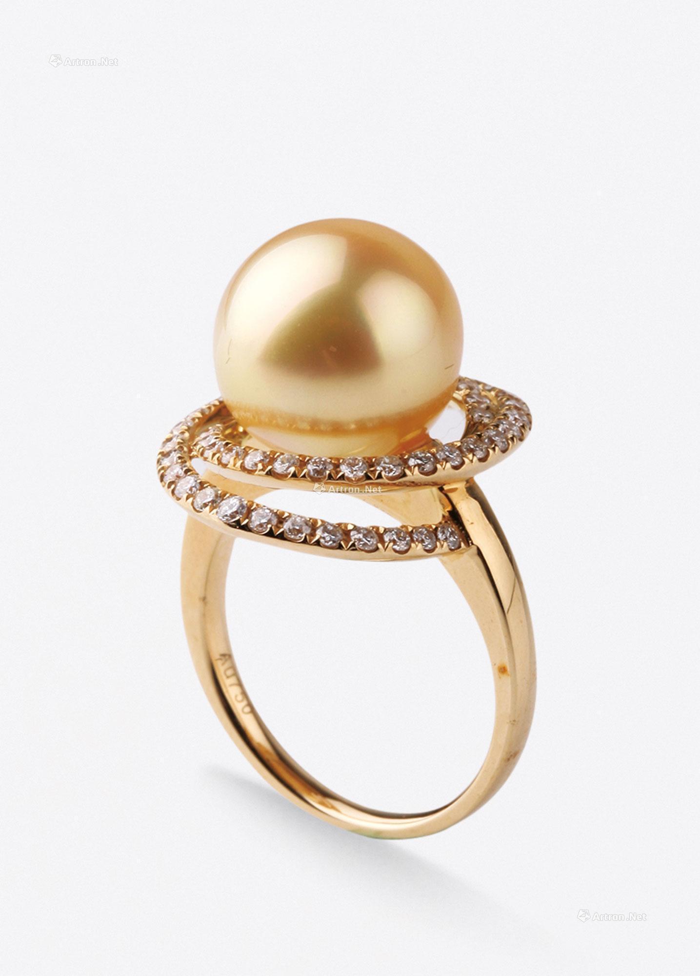 【金珠钻石戒指】拍卖品图片