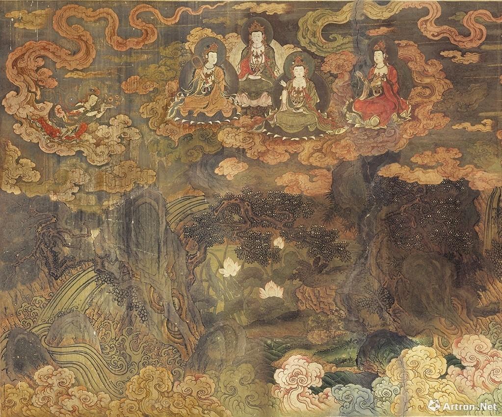 清华大学美术图书馆馆藏北京法海寺壁画高仿真画欣赏