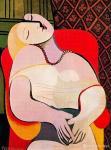 毕加索《梦》