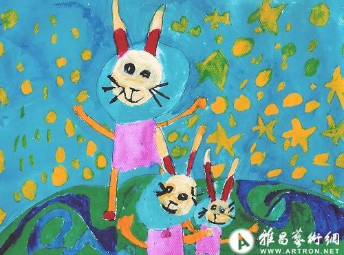 """2011""""卯兔迎春""""儿童美术作品展_在线展览_画廊展览"""