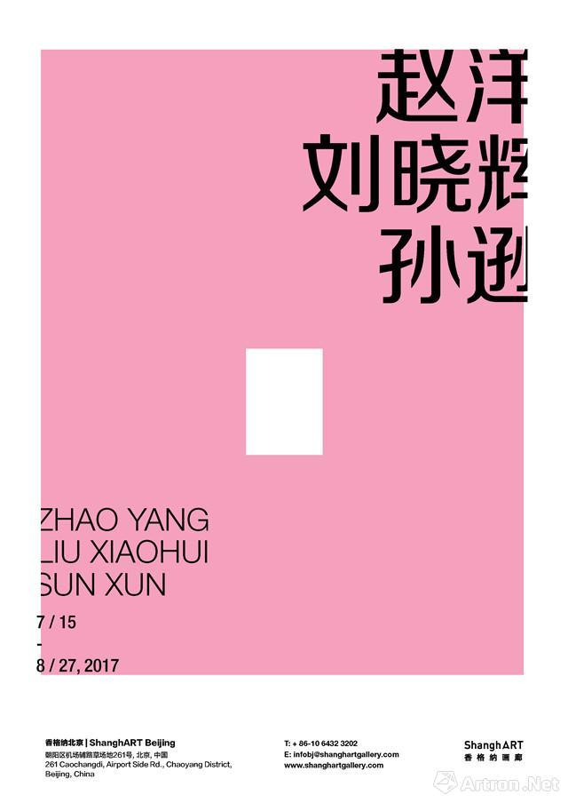 """""""赵洋 刘晓辉 孙逊""""作品群展"""
