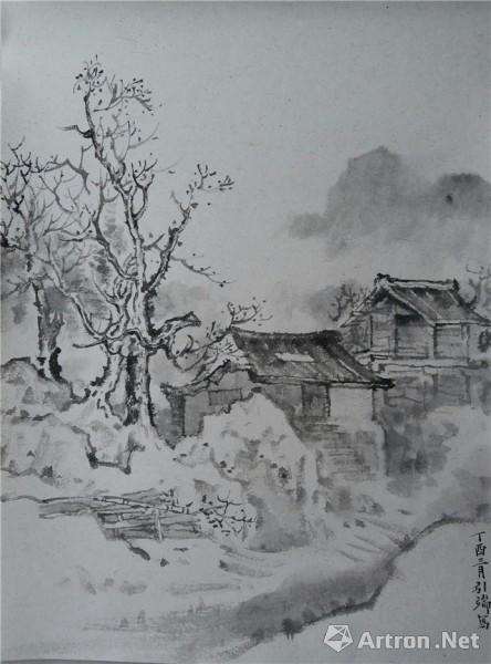 广州画院广西,贵州采风写生作品展
