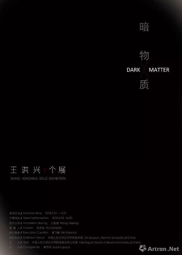 """""""暗物质""""王洪兴个展"""