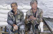 庆祝建党90周年第六届上海美术大展获奖作品