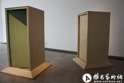 《何翔宇、高磊、高伟刚三人作品展》在荔空间开幕