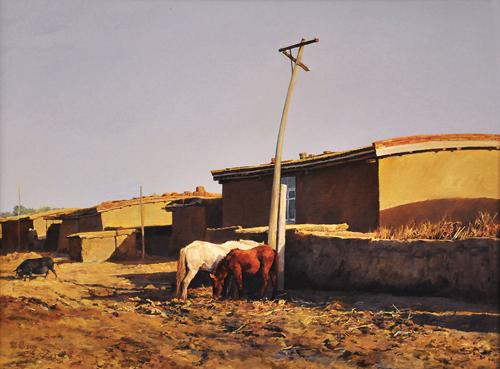 中国写实画派七周年展之——郑艺