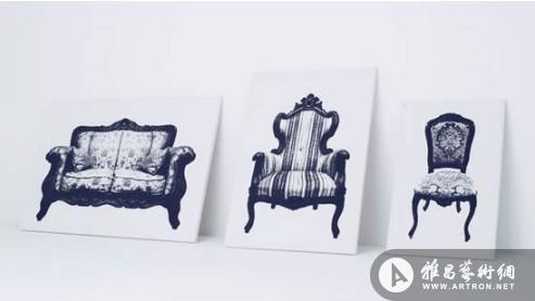 妙趣横生画上座椅 视觉错位立体艺术_设计_雅昌新闻