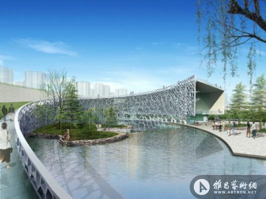 上海自然博物馆新馆效果图.