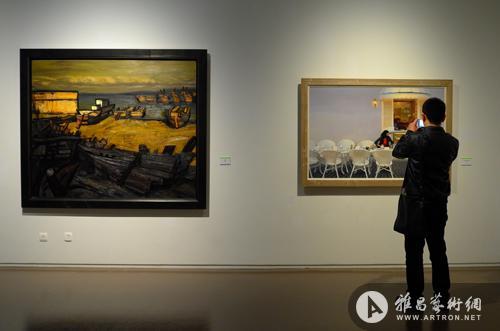 2013年全国油画作品展中华艺术宫展览现场图片