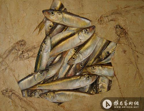 美术馆展出张道森,路海燕,陆琦,张雷,陈海平,闻松六位艺术家的作品