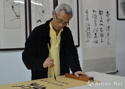 中国当代实力派书画家范文才图片