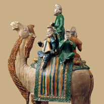 丝绸之路文物展