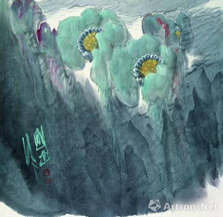 此次第三届中国当代工笔画展.