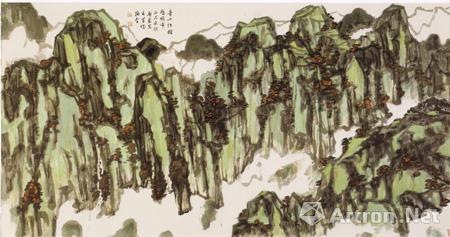 【评论】从刘斯奋的绘画艺术看中国水墨现代化的前景图片