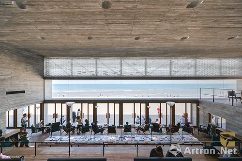 三联海边公益图书馆, 阿那亚|秦皇岛天行九州旅游置业开发有限公司|直