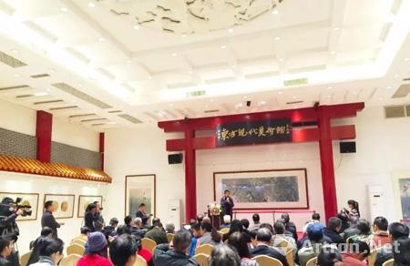 """""""自然之声 王军伟工笔画作品展""""在广东省东方现代美术馆隆重开幕!图片"""