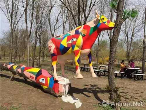 【雅昌快讯】陈文令大型户外雕塑展在国际鲜花港开幕
