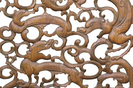 张辉:明式家具上的凤纹 螭凤纹 螭龙纹